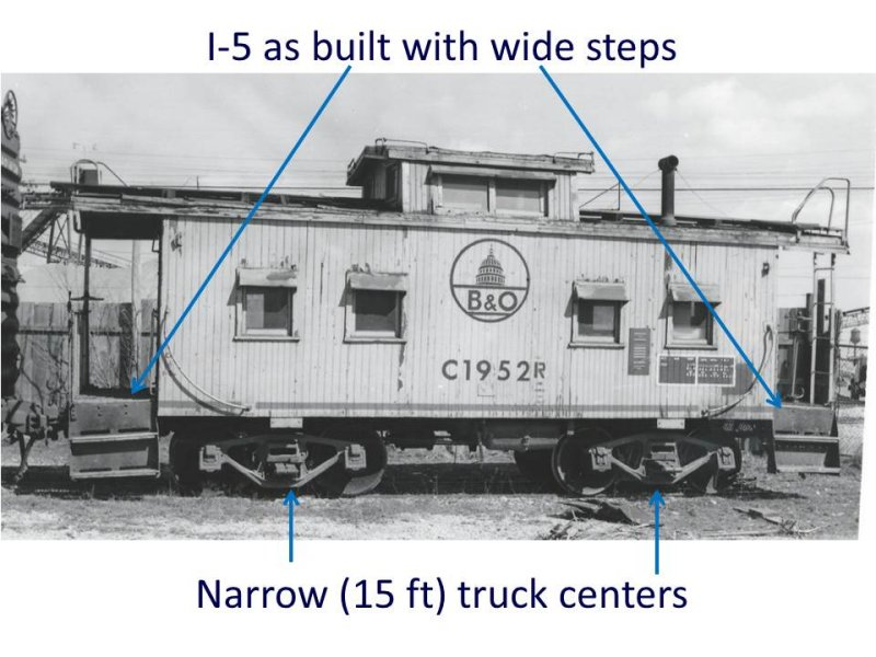 As built I-5 caboose