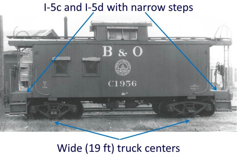 I-5c and I-5d truck and step configuration