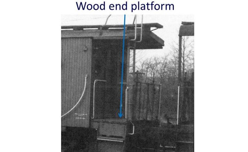 wood end platform